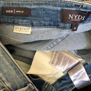 NYDJ Jeans - NYDJ | Sheri Slim Ankle Patchwork Jeans Size 10